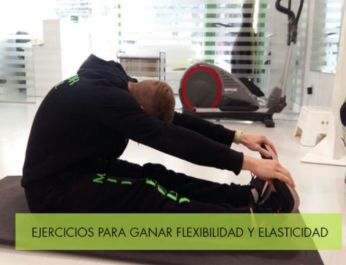 Ejercicios para ganar flexibilidad y elasticidad