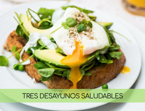 3 recetas saludables para desayunar