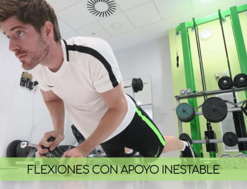 Pásate a las flexiones con apoyo inestable